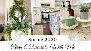 💐SPRING 2020💐   CLEAN & DECORATE WITH ME   FRENCH COUNTRY FARMHOUSE STYLE   MONICA ROSE