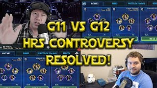 Star Wars: Galaxy Of Heroes - Gear 11 VS Gear 12 - HRS Controversy RESOLVED!