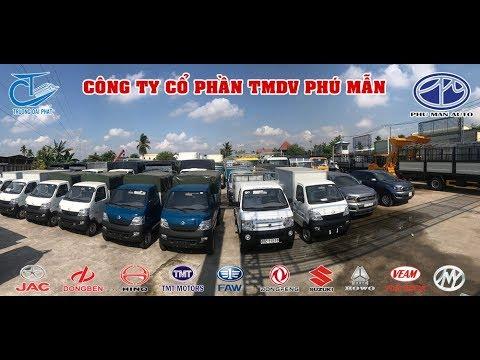 Công ty CP - TM DV Phú Mẫn - chuyên kinh doanh xe tải - xe ô tô - xe chuyên dụng...