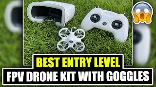 Best Entry Level Drone Kit with Goggles - Unboxing - BetaFpv CETUS PT1