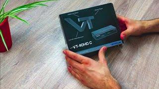 Unboxing des digital Tv Receivers von Vantage, was taugt der VT-40HD C? (deutsch)