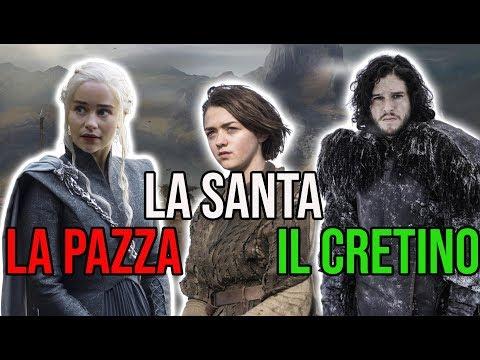 La pazza, la santa, il cretino [Game of Thrones S8EP5]