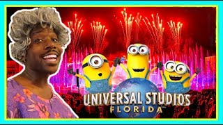 HOW BAD IS UNIVERSAL STUDIOS NEW NIGHT TIME SHOW? | Universal Orlando's Cinematic Celebration