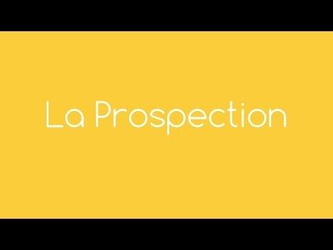 Vidéo sur La prospection