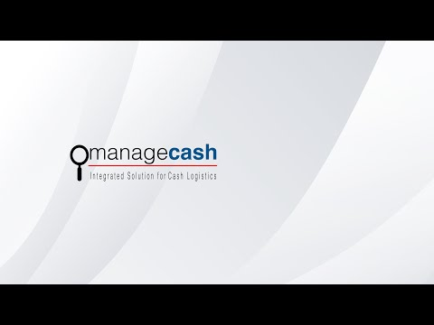 ManageCASH Cash Logistics Management System