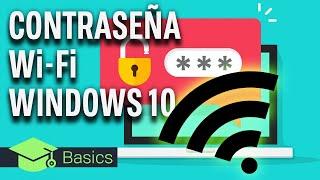 CÓMO VER LA CONTRASEÑA de tu Wi Fi con WINDOWS 10: ¡Y TAMBIÉN LAS ALMACENADAS!