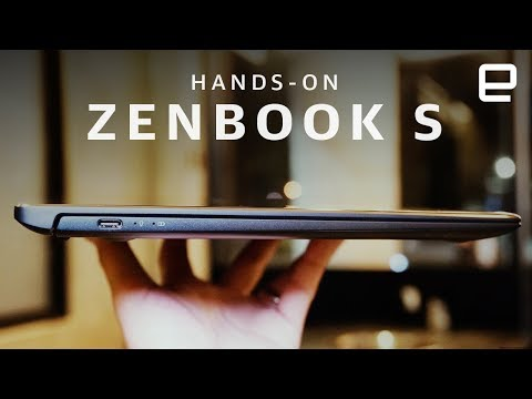 ASUS ZenBook S Hands-On at Computex 2018