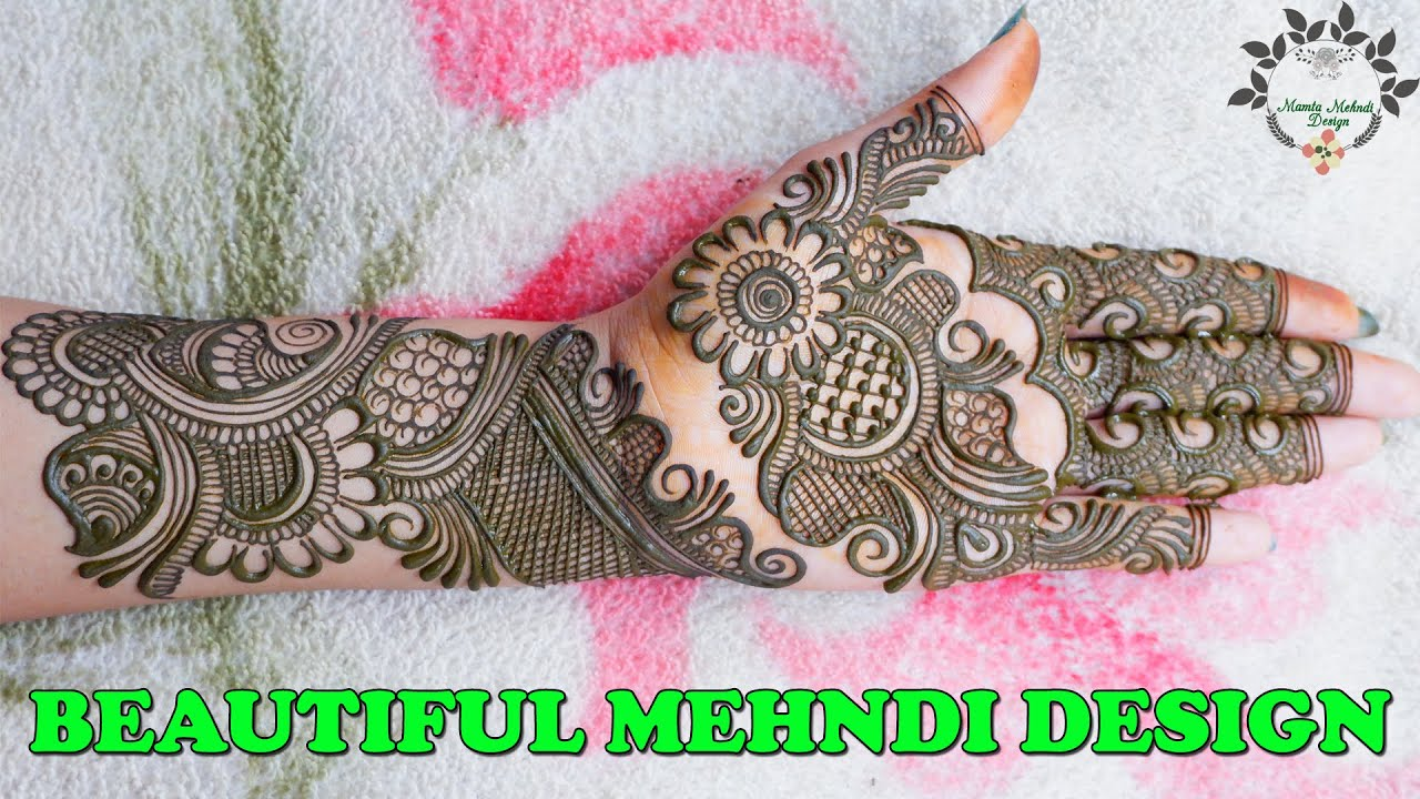 """<p style=""""color: red"""">Video : </p>New Style Beautiful Mehndi Design   Fancy Mehndi Design For Hands   Front Hand Mehndi DesignsNew Style Beautiful Mehndi Design   Fancy Mehndi Design For Hands   Front Hand Mehndi Designs #NewStyle #MamtaMehndiDesign #Fancy  2020-08-17"""