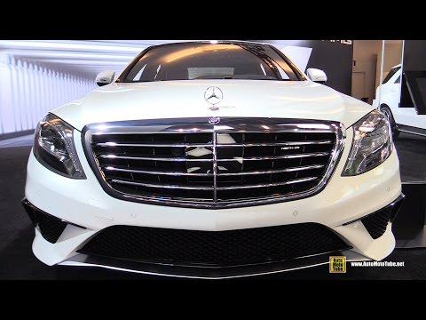 2015 Mercedes-Benz S-Class S63 AMG 4Matic - Exterior, Interior Walkaround - 2015 Montreal Auto Show