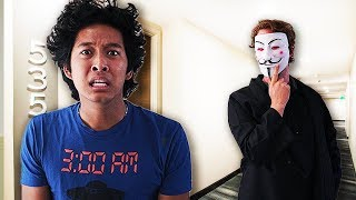 Hacker Broke Into My House!!!