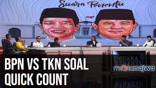 Suara Penentu: BPN vs TKN Soal Quick Count (Part 5) | Mata Najwa