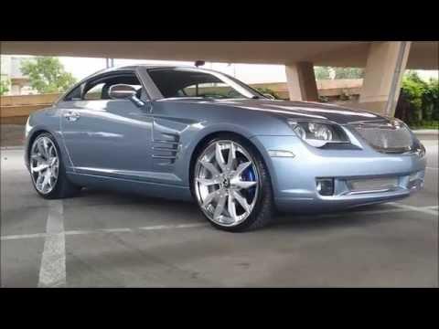Kustom Chrysler Crossfire on Artigli-ECL Forgiatos!