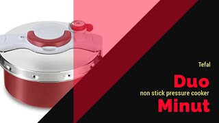 Tefal Clipso minut duo pressure cooker