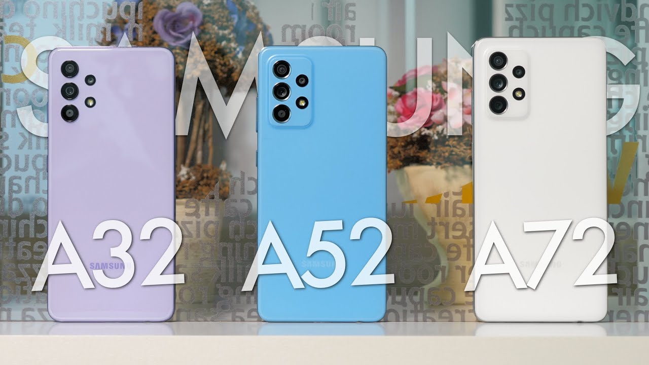 Samsung Galaxy A32 A325F 4/64GB Blue (SM-A325FZBDSEK) video preview