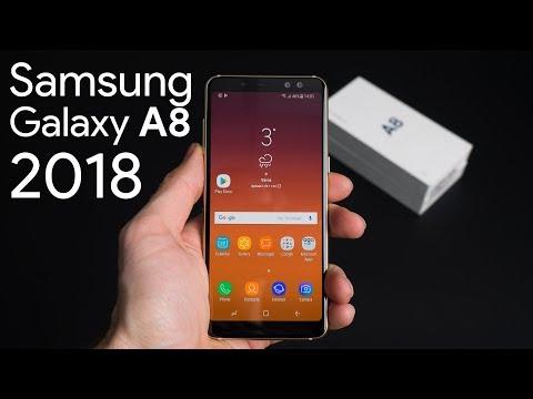 Video over Samsung Galaxy A8 (2018)