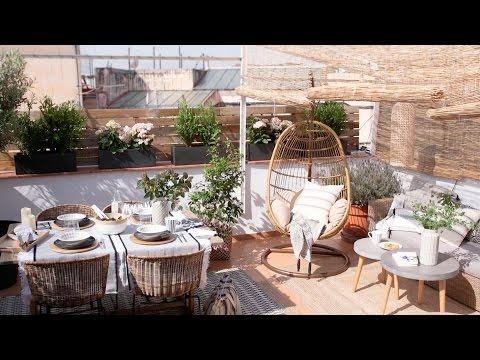 La terraza: cómo sacarle partido