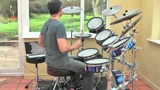 Genesis 'Turn It On Again'   Drum Cover By Jouxplan