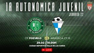 R.F.F.M - Jornada 22 - Primera División Autonómica Juvenil (Grupo 1): C.F. Pozuelo de Alarcón 1-2 Aravaca C.F.