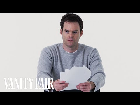 Bill Hader Gives the Worst Audition of All Time   Vanity Fair