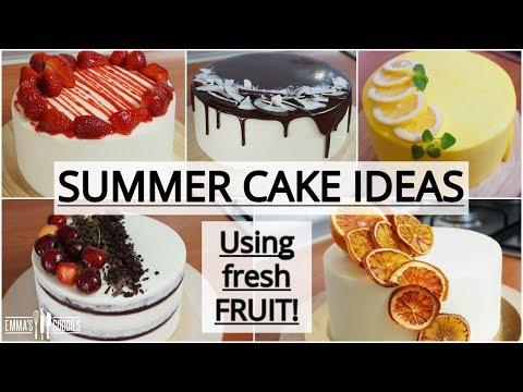 SATISFYING Cakes Compilation Using Fresh Fruit – 5 Amazing Spring Cake Recipes
