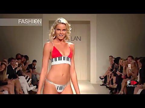 LEE LANI Swimwear Spring 2017 Miami - Fashion Channel