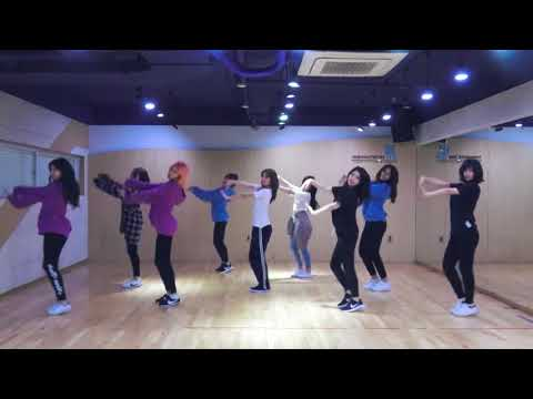 TWICE - What Is Love [DANCE PRACTICE + MIRRORED + SLOW 100%]