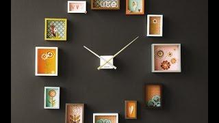 Посмотрите какие часы можно сделать своими руками
