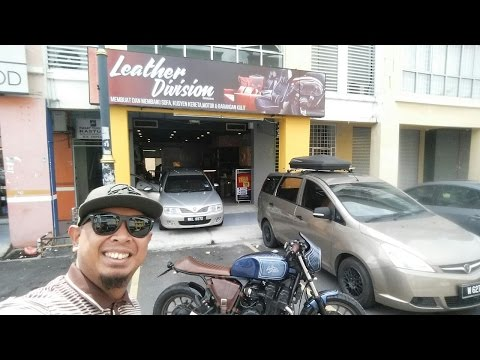 VLOG - HONDA CBX750 CAFE RACER OWNER REVIEW feat FAIRUZ LEATHER DIVISION MY