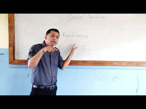 See preparation class ~ Social Studies   Fewa Television