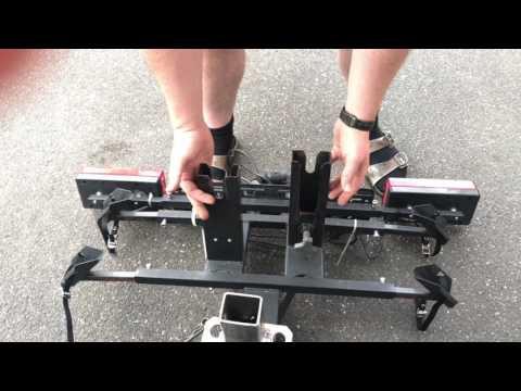 Twinny Load Fahrradträger montieren Metall & Technik Fahrrad Heck-Träger anbringen Kuplung Anleitung