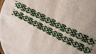 Embroidery Design: Hand Embroidery Stitches By DIY Stitching # 49