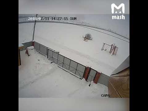 Падение самолета АН-148 в Подмосковье попало на видео