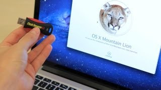 How to Create a Bootable Mountain Lion 10.8 USB Install Thumb Drive