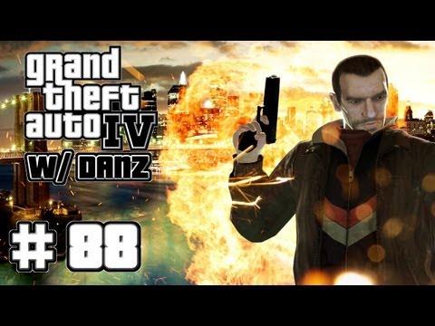 GTA IV w/ Danz Pt88 GLITCH IN MY FAVOR... NOT!