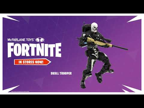 Fortnite Figures Are Here Cuddle Team Leader Skull Trooper
