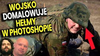 Wojsko Polskie Domalowuje Żołnierzom Hełmy w Photoshop! – Wywiad Ator Analiza Komentator Lisowski PL