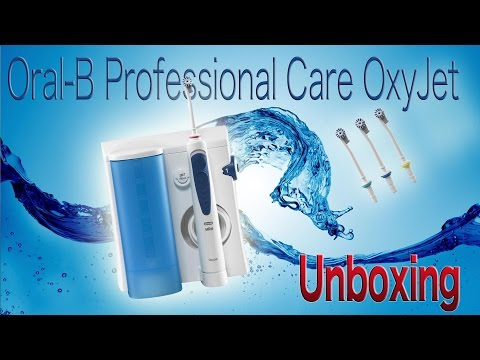 Oral-B Professional Care OxyJet Unboxing