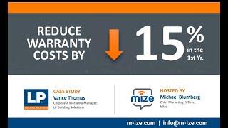 Mize Warranty Management video
