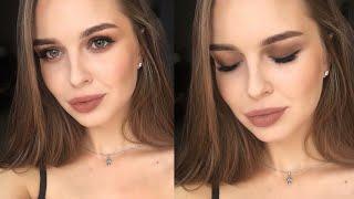 МАТОВЫЙ ОСЕННИЙ МАКИЯЖ В ШОКОЛАДНЫХ ОТТЕНКАХ🍂Soft Matte Makeup