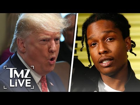 [TMZ]  A$AP Rocky Named In Trump Impeachment Hearings