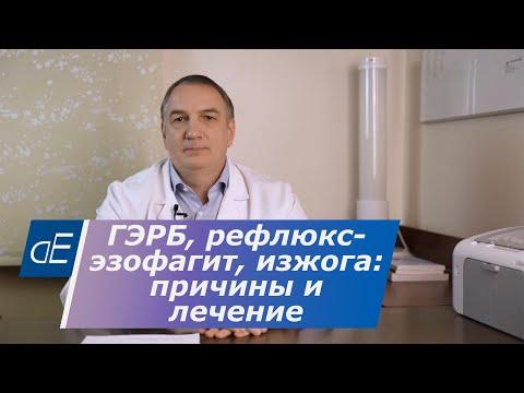 ГЭРБ, рефлюкс эзофагит, ИЗЖОГА:  причины, симптомы и эффективное ЛЕЧЕНИЕ.