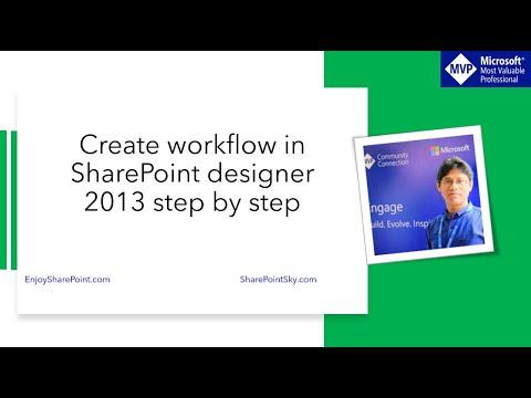 SharePoint online create workflow using sharepoint designer 2013 ...