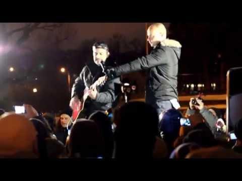 Путин - хуйло в Питере 15.01.15