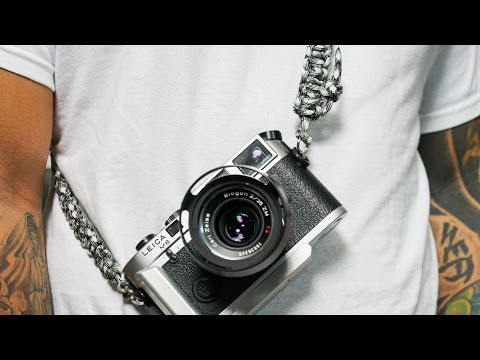 How to make a Paracord Camera Strap
