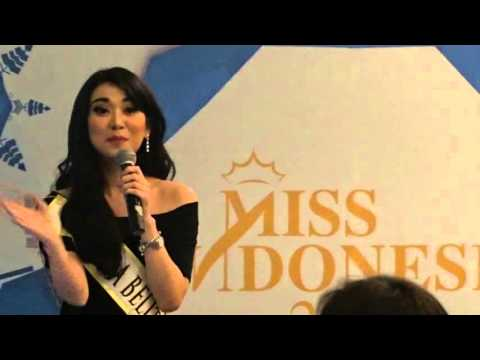 SUCCESS IN BEAUTY PAGEANT Miss Indonesia - PUBLIC SPEAKING