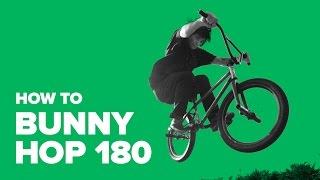 Как сделать 180 на велосипеде (How to 180 on a BMX)