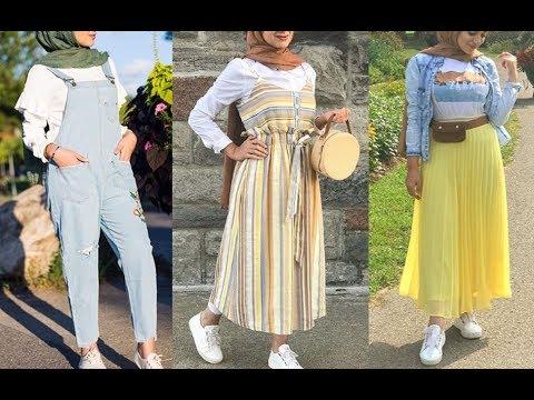 af55ec41c تنسيق ملابس محجبات للربيع 2019 Early Spring Hijab Lookbook - Al Aniqah  الأنيقة - imclips.net