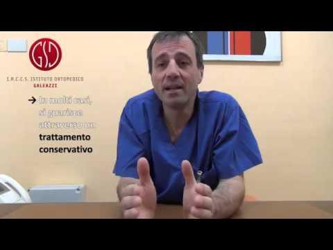 Esercizio per sviluppo e rinforzo di reparto cervicale