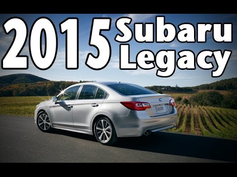 Price Range and News on the 2015 Subaru Legacy, Review Included