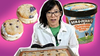 Can You BAKE Cookies From The Dough in Cookie Dough Ice Cream?